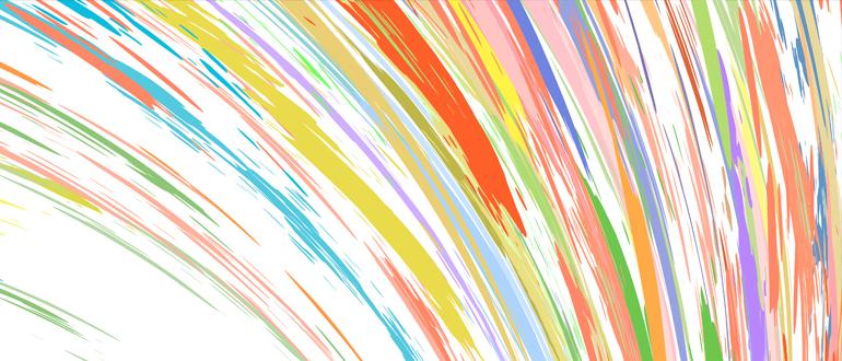 [foto] Remolino de tinta multicolor