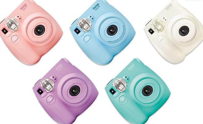 Mini 7S cameras in different colors