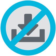 [image] No image download sign