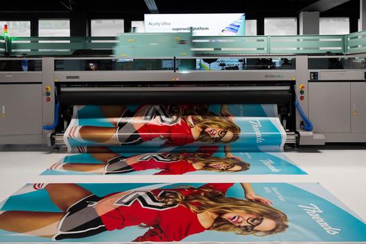 Impresora Acuity Ultra con impresión de imágenes