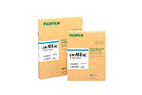 [photo] Two UM-MA Mammography film packs in larger and smaller sizes