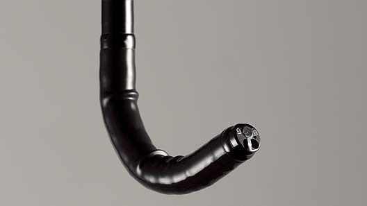 [photo] EG-760Z scope in upwardly bent position