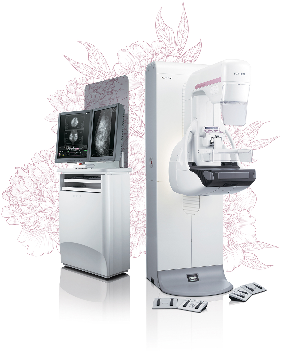 [photo] AMULET Innovality digital mammography system and workstation