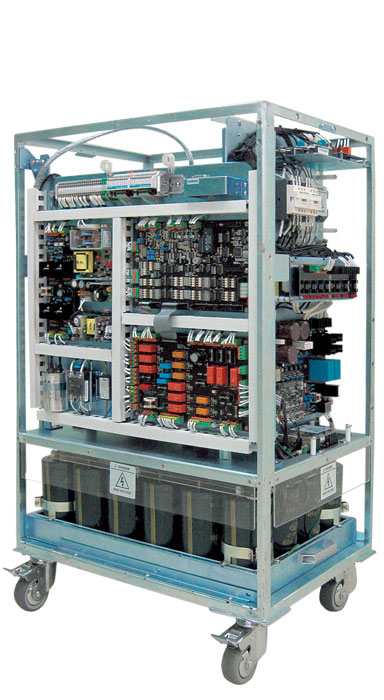 [photo] Capacitor Assisted Generator for medium sized X-ray department