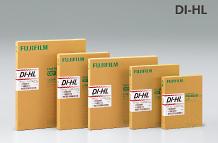 [photo] Row of Fujifilm DI-HL and DI-ML films in descending size order