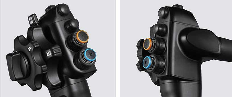 [photo] G7 control portion button layout of 7000 system endoscope