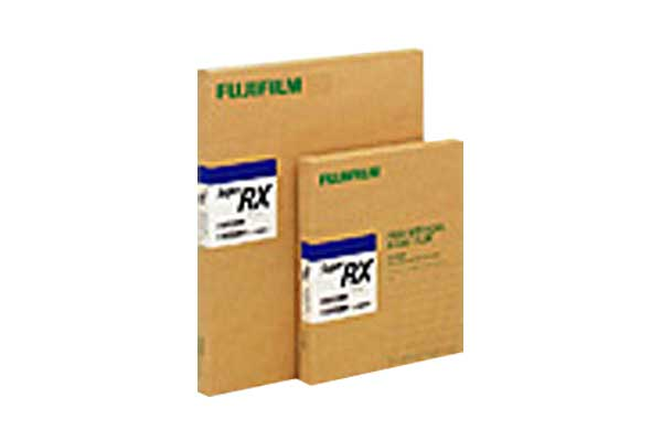 [photo] Two packs of Super RX X-ray film in larger and smaller sizes