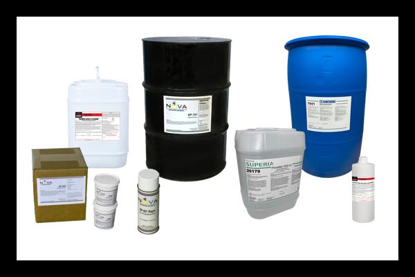 Suministros para la sala de prensa - Productos químicos