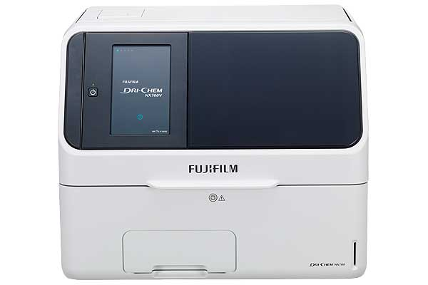 [photo] FUJI DRI-CHEM NX700 chemistry analyzer
