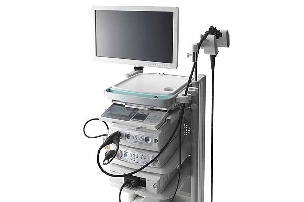 [photo] Endoscopic Ultrasonography System workstation