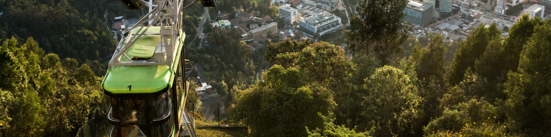 [foto] Tranvía de Monserrate en Bogotá