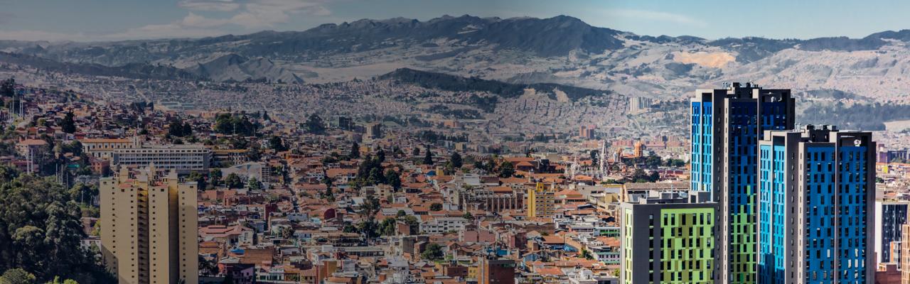 [foto] Vista panorámica de Bogotá, Colombia