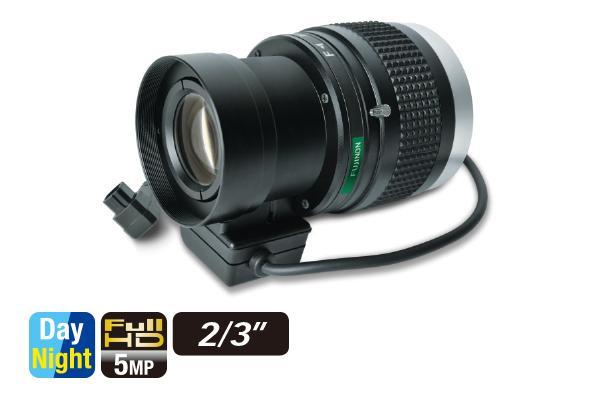 [foto] Lente varifocal HF50SR4A-1/SA1L de costado