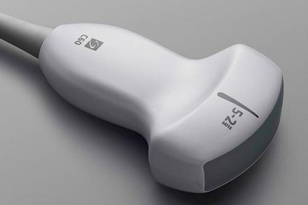 [photo] rC60xi transducer, lIght grey ultrasound scanner
