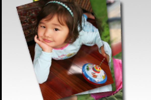 Insumos de inyección de tinta Minilab Retrato de niños