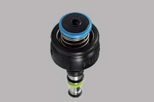 [photo] Black with blue color ring air/water valve