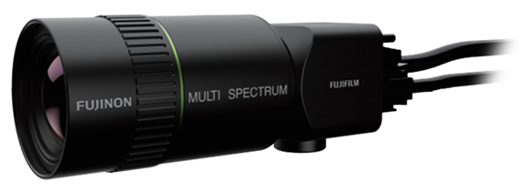 [photo]Newly-developed multispectral camera system