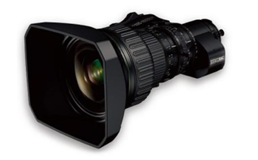 "4K-compatible broadcast zoom lens ""FUJINON UA24x7.8BERD S6B"""