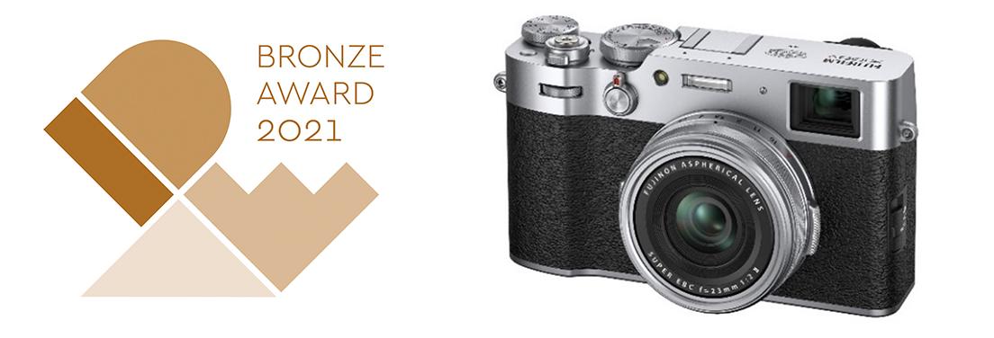 "[iamge]""IDEA Awards 2021"" Bronze Award winner ""FUJIFILM X100V"""