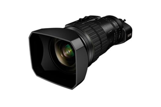 "[Photo]Portable zoom lens for broadcasting ""FUJINON UA46x9.5BERD"""