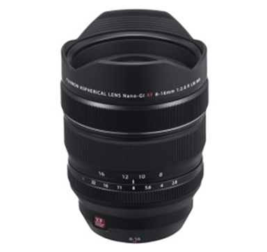 "[image]Interchangeable lens for X series digital cameras  ""FUJINON Lens XF8-16mmF2.8 R LM WR"""
