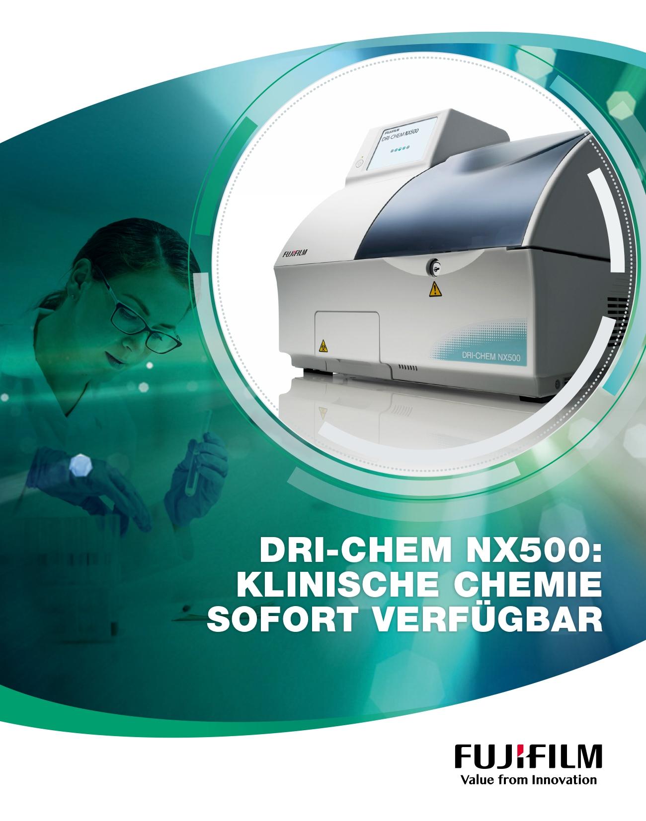 [Foto] FUJIFILM DRI-CHEM NX500 Cover Broschüre