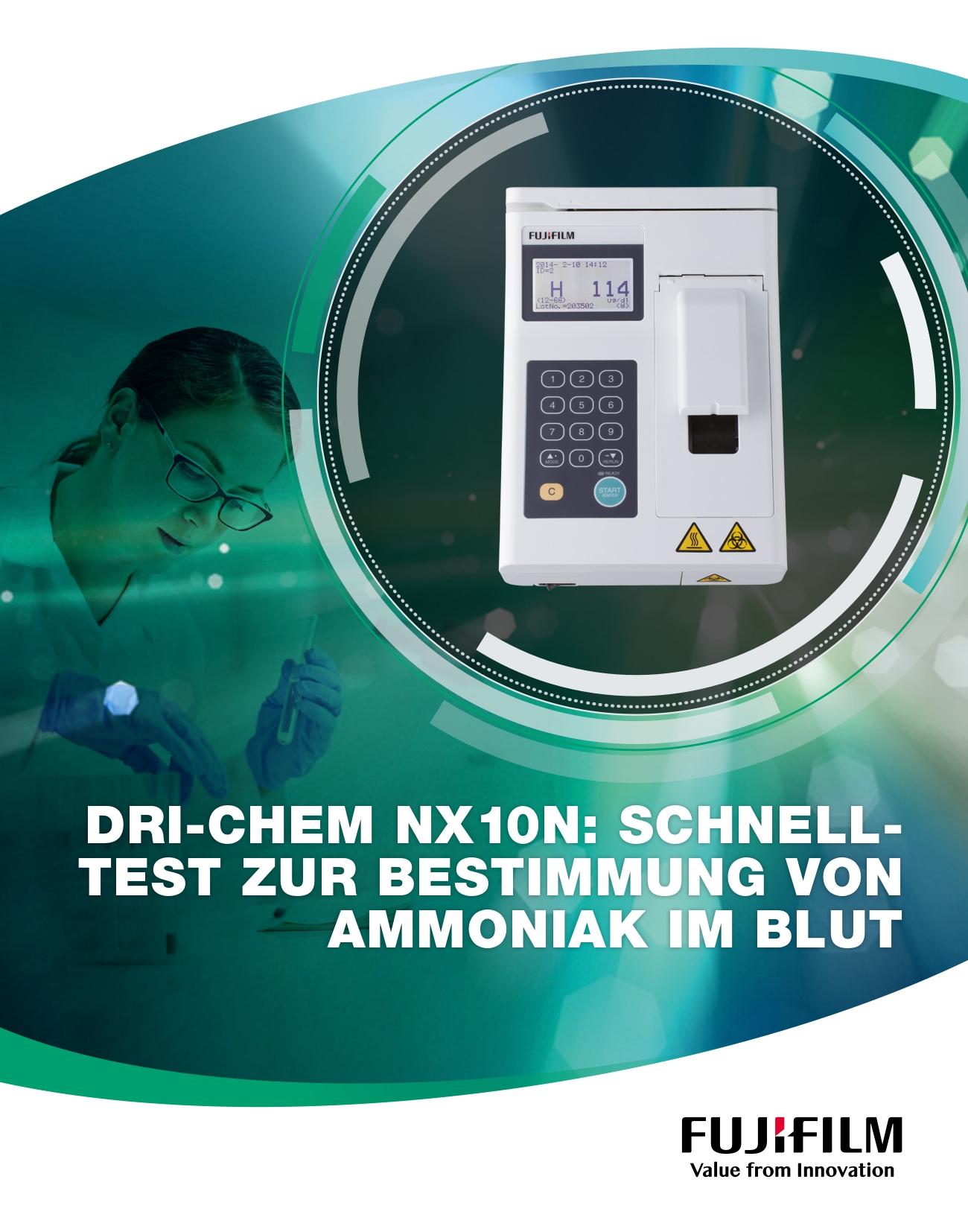 [Foto] FUJIFILM DRI-CHEM NX10N Cover brochure