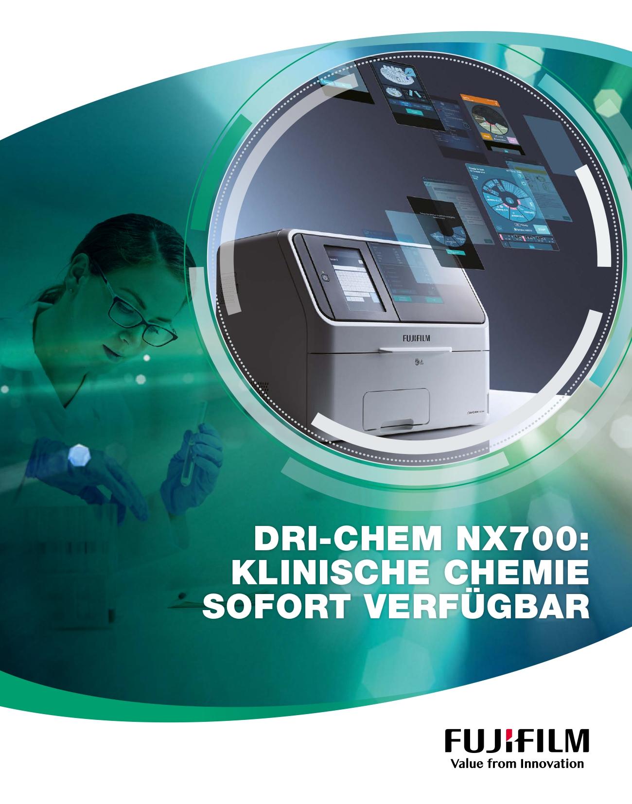 [Foto] FUJIFILM DRI-CHEM NX700 Cover Broschüre
