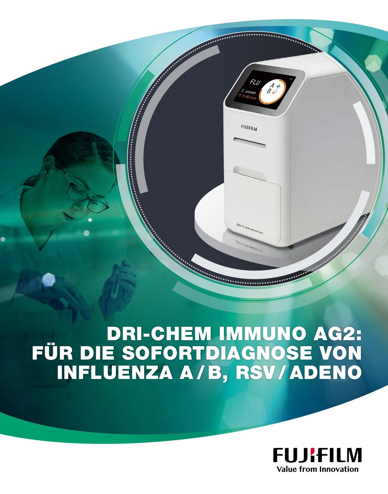 [Foto] FUJIFILM DRI-CHEM IMMUNO AG2 Cover brochure