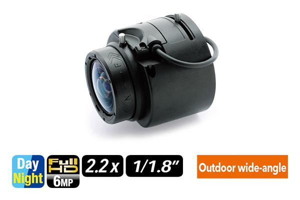 [photo] DV2.2x4.1SR4A-SA2L varifocal lens on its side