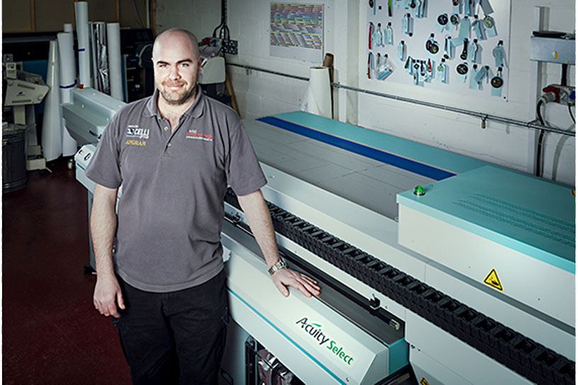[Photo]Dan Wilce, Printing Manager, ADS2 Loughborough