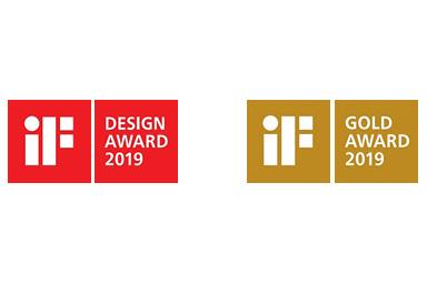 [Logo]iF DESIGN AWARD 2019 / iF GOLD AWARD 2019