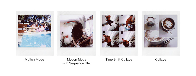 [Photo]Motion Mode/Motion Mode with Sequence filter/Time Shift Collage/Collage