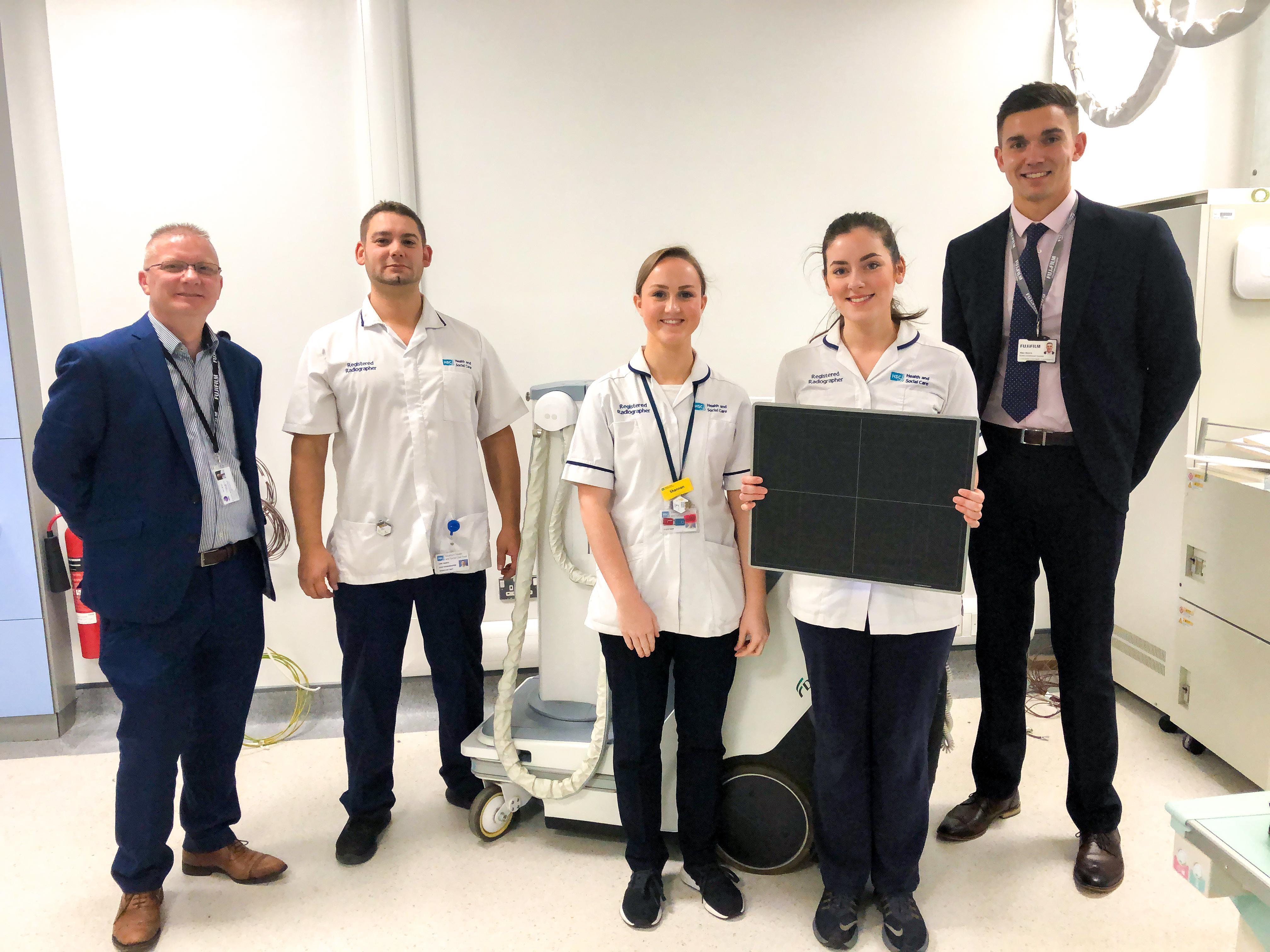 Craigavon Hospital's Busy Department