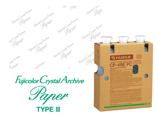 Papel Fujicolor Crystal Archive Type II.