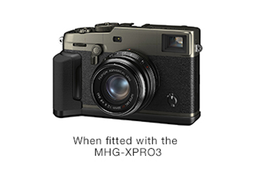 [Photo]When fitted with the MHG-XPRO3