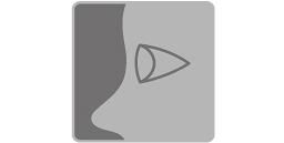 [imagen] Primer plano de un ojo dibujado con un cono de lado