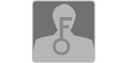 [imagen] Primer plano de una silueta humana con una llave grande en medio