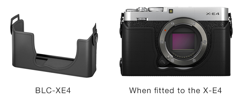 """[image]Leather case """"BLC-XE4"""" (designed specifically for the X-E4)"""