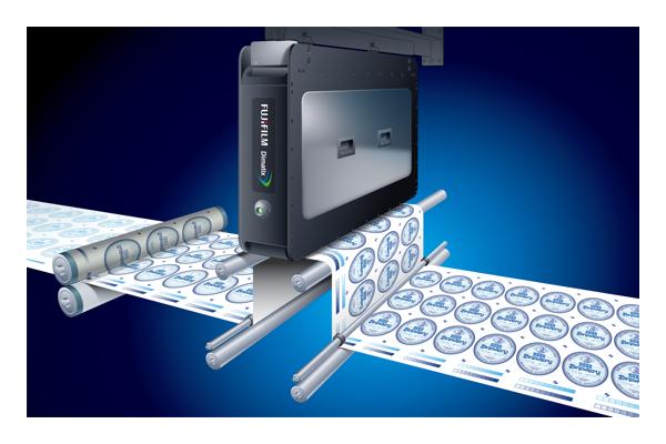 Sistema de barra de impresión inkjet Samba 42000