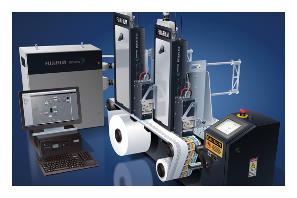 Sistema de Barra de Impresión inkjet industrial de la Serie Mini 4300