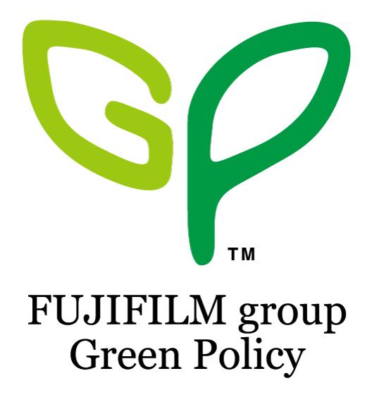 [ロゴ]FUJIFILM group Green Policy