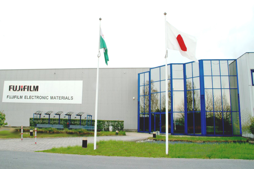 [写真]ベルギー工場
