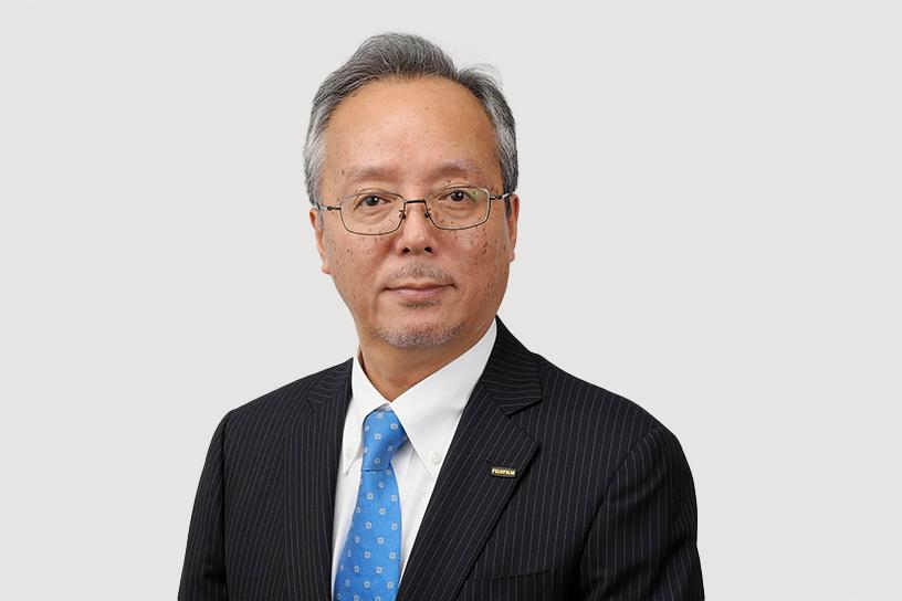 [写真]代表取締役社長 比留間 愛一郎