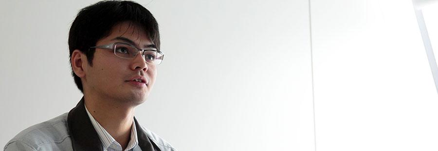 【写真】前渕 啓材