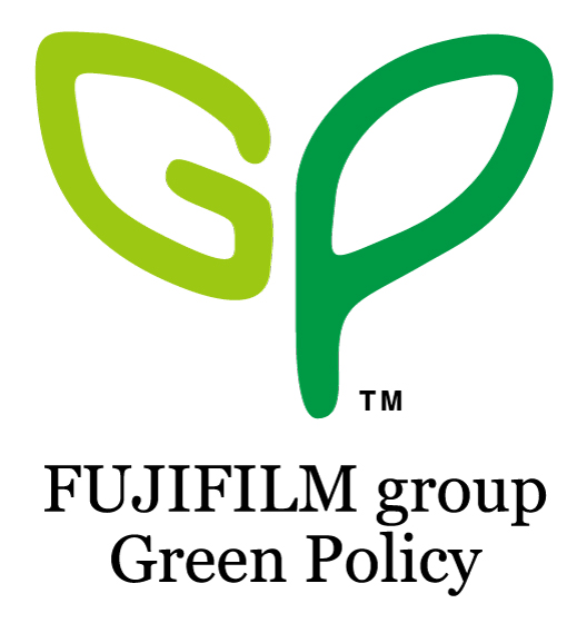 [ロゴ]FUJIFILM group Green Policy