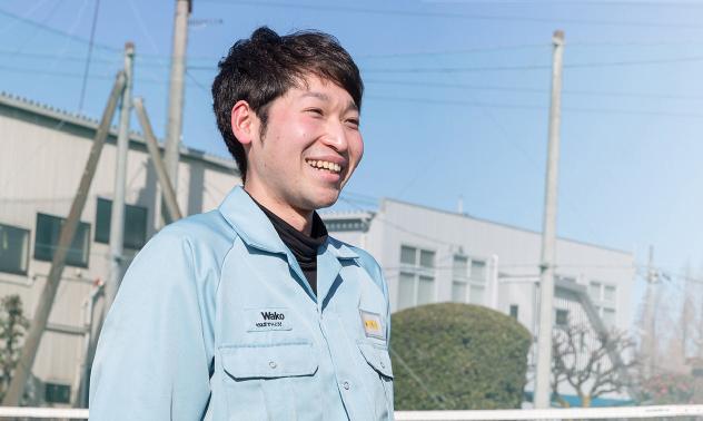 スケールの大きなものをつくるやりがい「職人」のように技を磨く 藤田 浩行