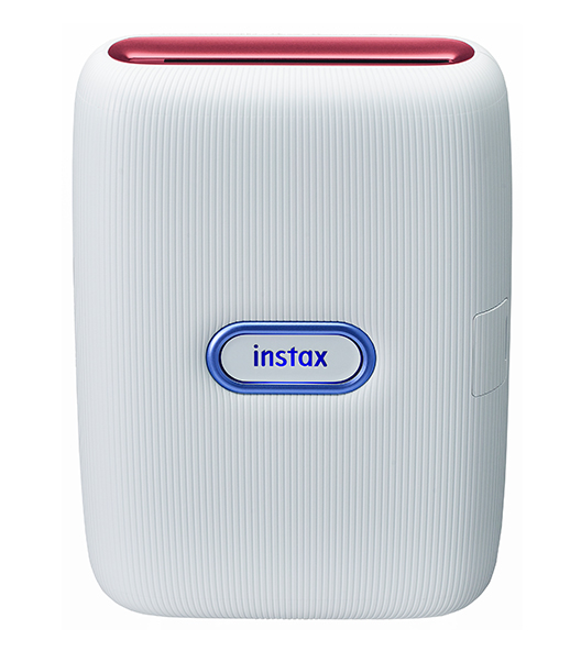 [image]instax mini Link Ash White (Red & Blue)