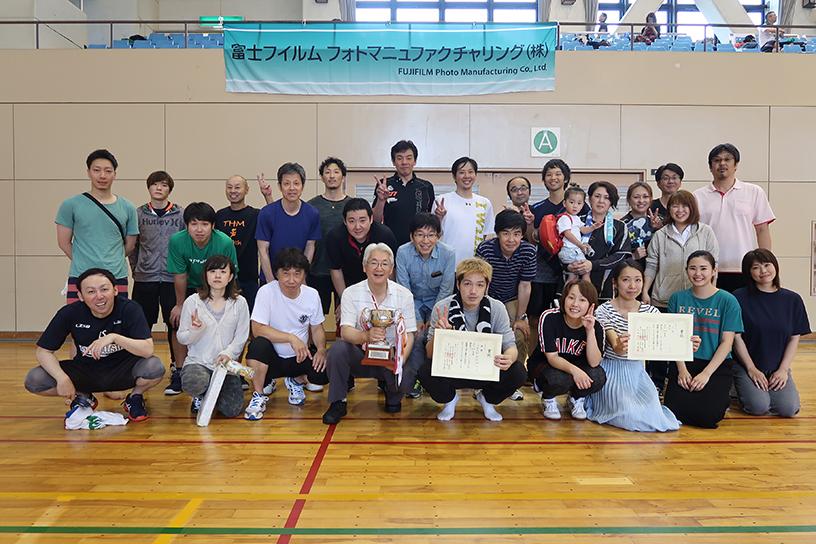 [写真]バレーボール大会