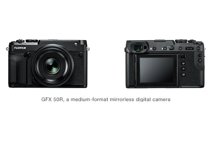 [Photo]GFX 50R, a medium-format mirrorless digital camera